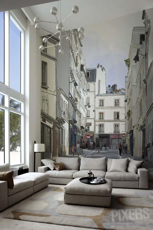 Montmartre - fotomural de PIXERS