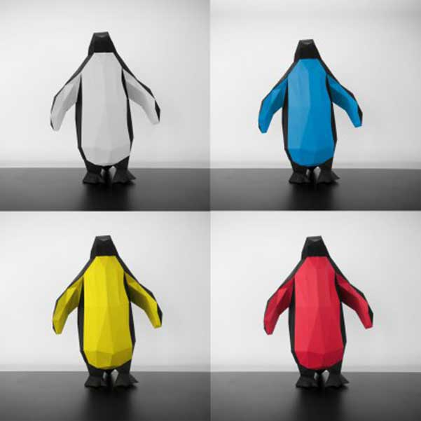 Papertrophy-pinguino