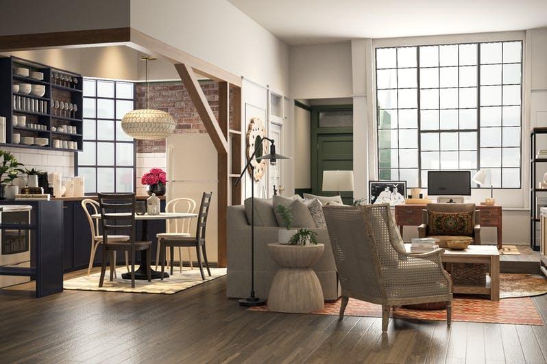 Así sería el apartamento de Mónica, en Friends, hoy en día