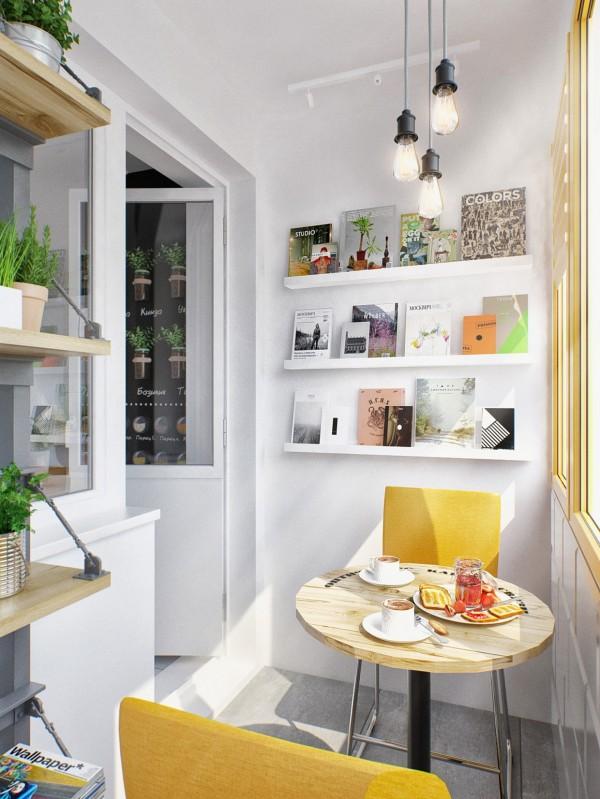 Precioso apartamento pequeño de diseño nórdico