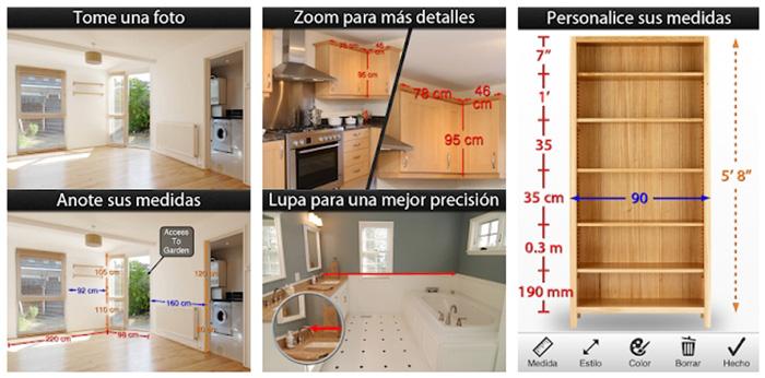 Aplicación para tomar medidas Photo Measures