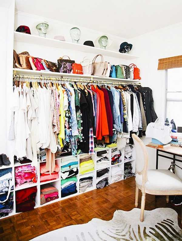 ideas para tener un armario o closet abierto mil ideas On ideas para closets abiertos