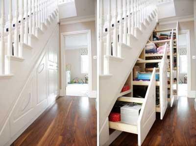 15 ideas para aprovechar el hueco de debajo de la escalera mil ideas de decoraci n - Armario hueco escalera ...