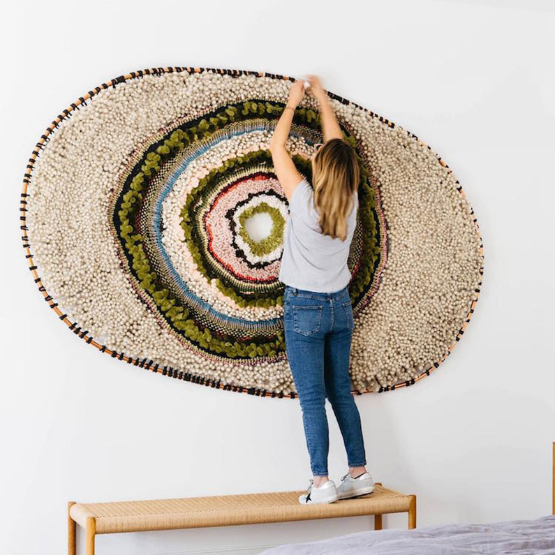 Tammy Kanat y su arte textil