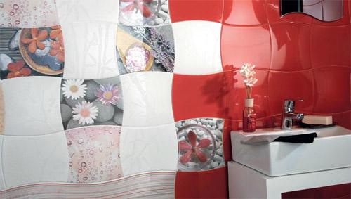 Azulejos Para Baño Porcelanite: azulejos modernos para decorar las paredes del cuarto de baño