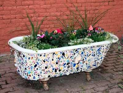 bañera_original_macetero_jardin