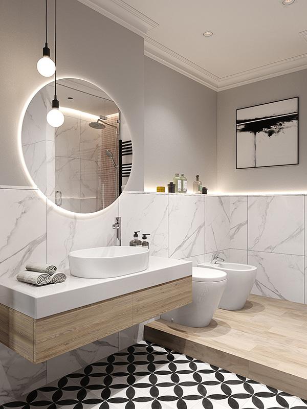 60 fotos de baños modernos diseñados con total acierto | Mil Ideas ...