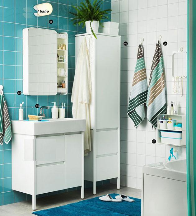 Cuarto de baño IKEA 2017