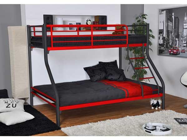 15 camas literas modernas y pr cticas mil ideas de decoraci n - Lit superpose adulte ...