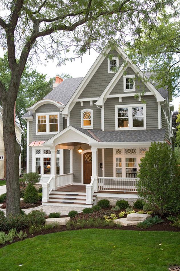 Colores para casa pintada por fuera