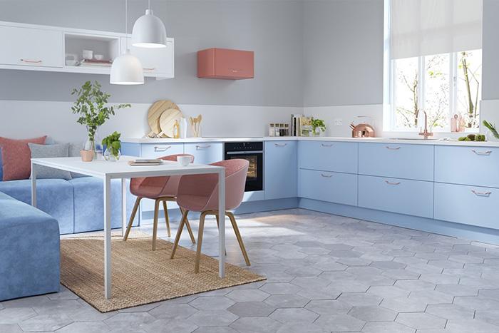Cocinas en L. Diseños que te van a cautivar. #Cocina #Kitchen #Diseño #Decoración