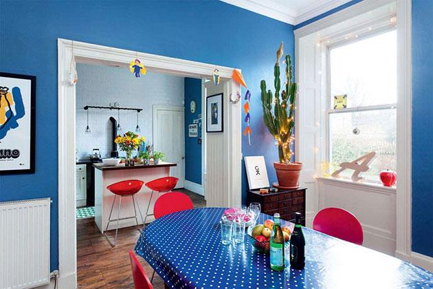 31 bellos colores para pintar tu comedor mil ideas de for Colores calidos para living comedor