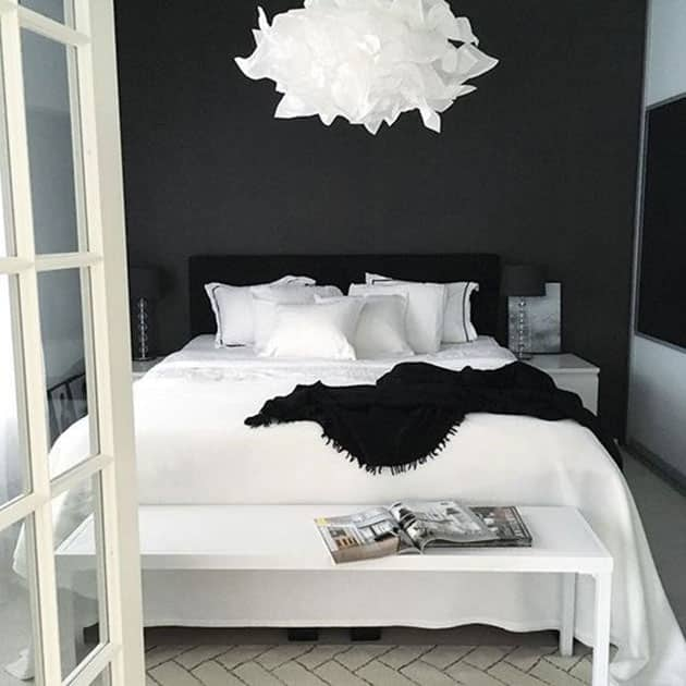 Black And White Pictures For Bedroom Wall Decor For Small Bedroom Bedroom Sitting Room Design Ideas Bedroom Carpet Design Ideas: Los 10 Colores Que Mejor Combinan Con El Negro En