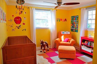 Colores para pintar y decorar habitaciones infantiles - Color habitacion nino ...