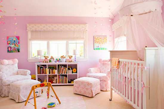 Colores para pintar y decorar habitaciones infantiles for Cuartos decorados kawaii