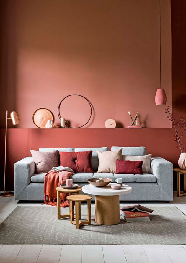 25 colores para pintar la casa est n de moda son tendencia for Colores para living