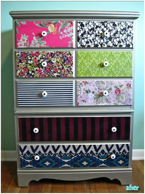 Mod Podge Dresser Ideas