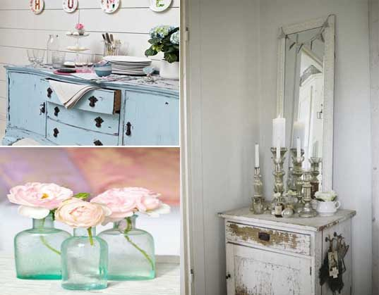 10 ideas para introducir el estilo shabby chic en el hogar for Ideas decorativas para habitaciones