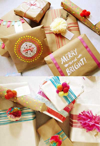 20 hermosas ideas para envolver y decorar regalos mil for Todo ideas originales para decorar