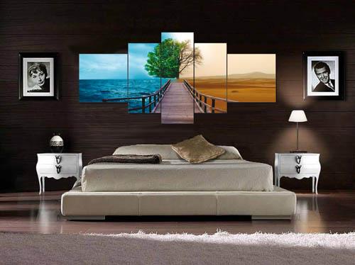 Cuadros tr pticos modernos mil ideas de decoraci n - Cuadros para dormitorios modernos ...