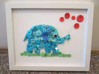cuadro_infantil_elefante_botones