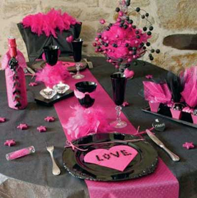 decoracion cena mesa san valentin 4