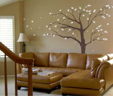 fotos e ideas para pintar y decorar las paredes con arboles mil ideas de decoracin