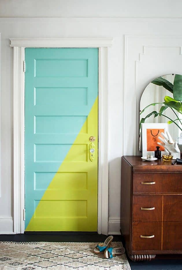 Decoraci n de puertas de interior 40 fotos y geniales - Decoracion puertas interior ...