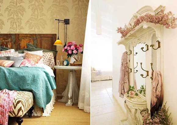 Decoraci n de interiores estilo shabby chic mil ideas - Decoracion vintage ideas ...