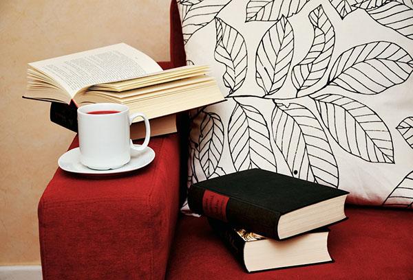 Libros para una casa más relajante