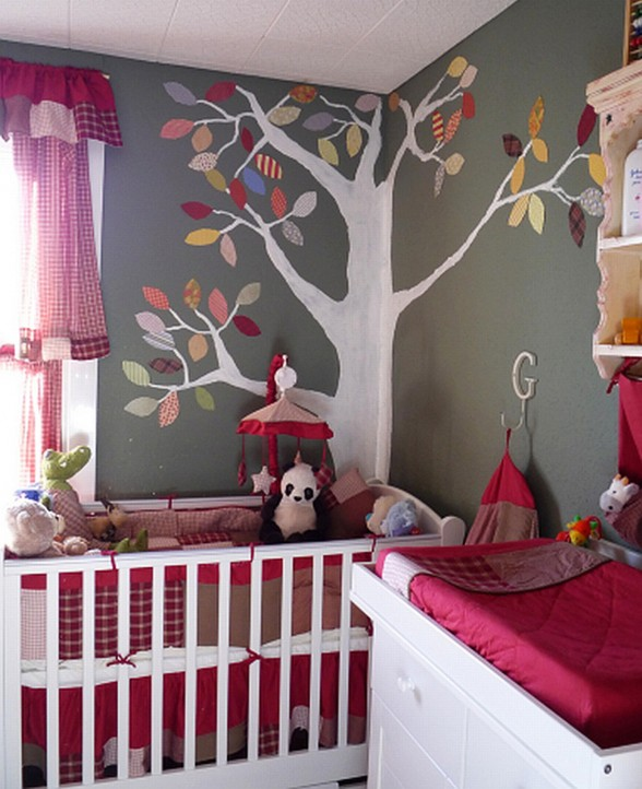 50 fotos e ideas para decorar el cuarto o dormitorio del beb for Decoracion para cuarto de bebe varon