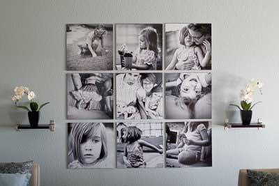 20 buenas ideas para decorar la casa con fotograf as - Imagenes para decorar paredes ...
