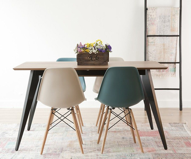 35 fotos e ideas para decorar la mesa del comedor | Mil Ideas de ...