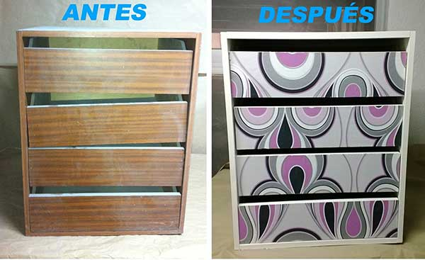 7 ideas para transformar la oficina en un lugar m s for Papel pintado muebles