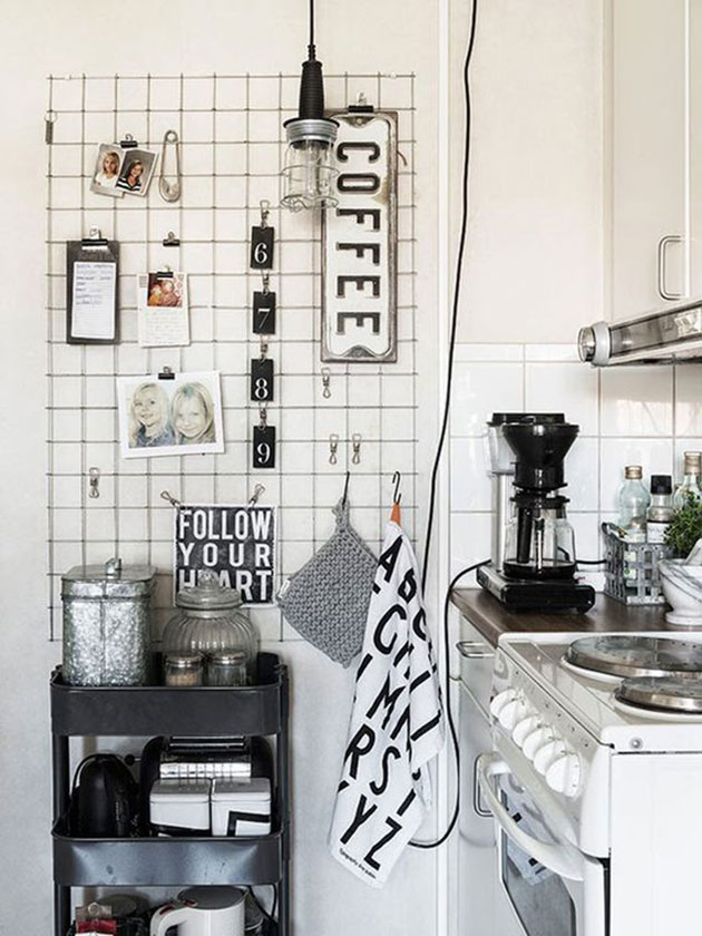 Ideas para decorar la pared de la cocina