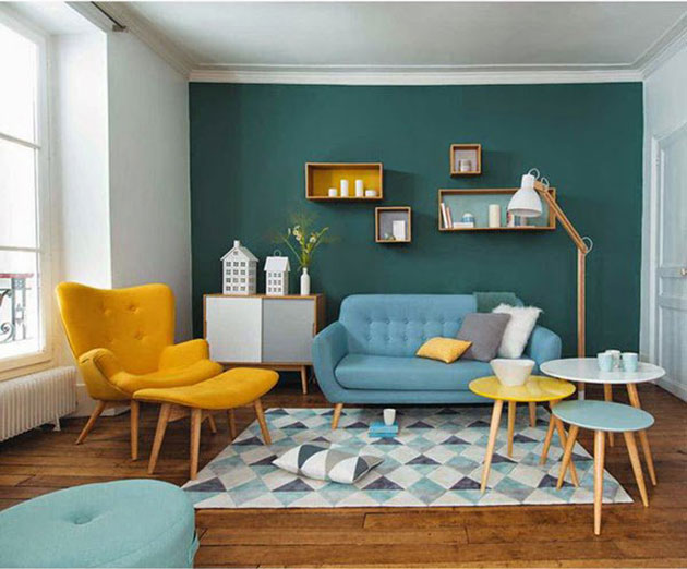 M s de 20 ideas para decorar la pared del sof mil ideas - Ideas para decorar una pared de salon ...