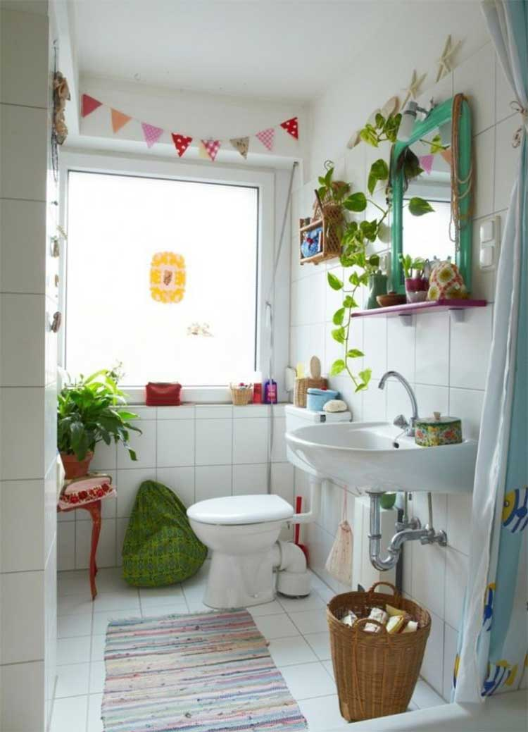 9 ideas para decorar y tapar ventanas sin cortinas mil for Ideas decoracion vintage