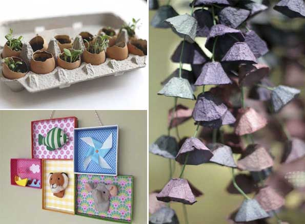 Reciclar Ideas Decoracion ~ 15 Ideas decorativas y creativas para reciclar cart?n  Mil Ideas