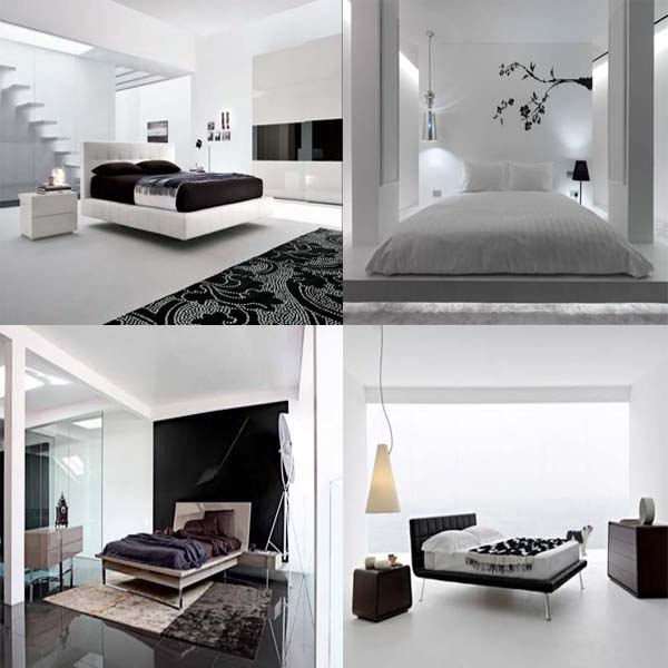 fotos e ideas para decorar un dormitorio moderno en blanco y negro mil ideas de decoracin