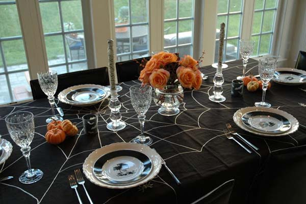 10 ideas para decorar la mesa en Halloween Mil Ideas de Decoracin