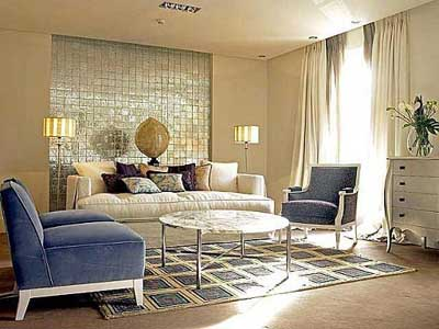 10 ideas para decorar una pared grande On decorar salon con cuadros grandes