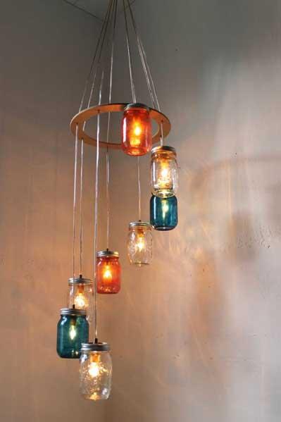 35 ideas creativas para reciclar y decorar con tarros de for Ideas creativas para decorar