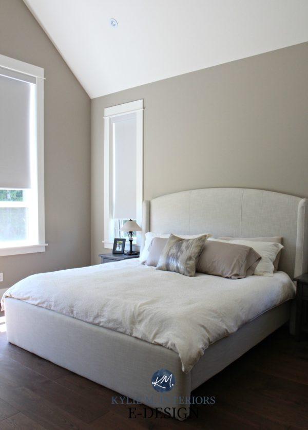 Un dormitorio beige