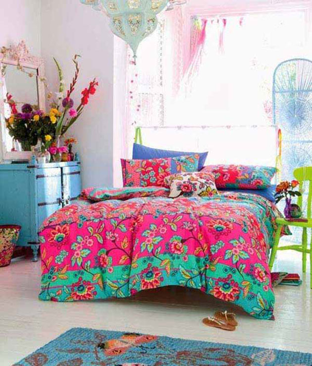 Decoraci n de dormitorios boho chic 38 fotos e ideas for Muebles maison decor