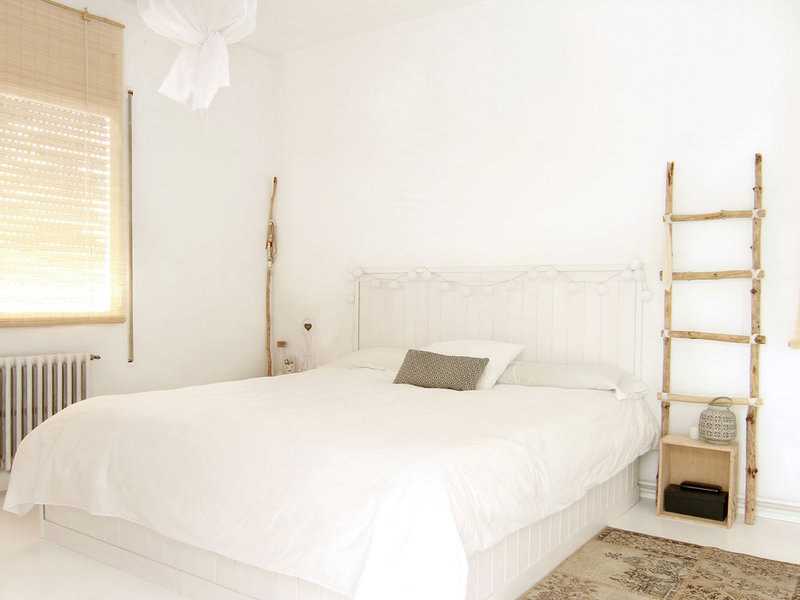 Un dormitorio total white