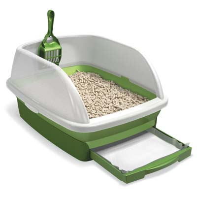 Lidded Cat Litter