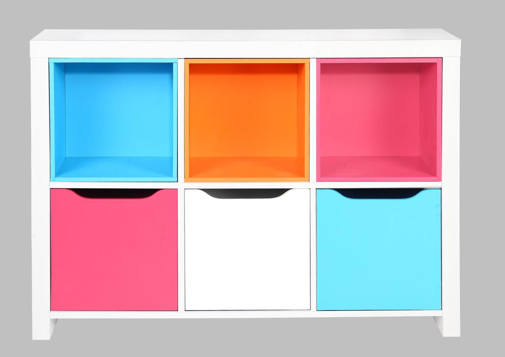 Decoracion mueble sofa cajones para estanterias - Estanterias de colores ...