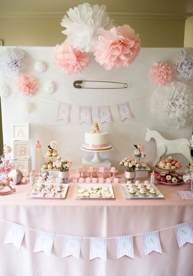 Decoraci n baby shower 57 fotos e ideas para la fiesta for 3 little birds salon