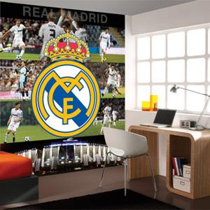 Fotomurales decorativos del real madrid mil ideas de for Decoration chambre real madrid