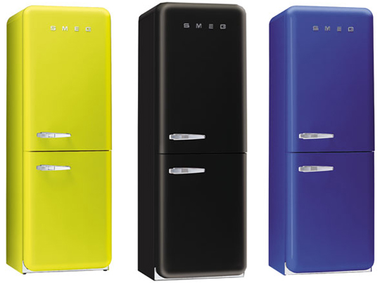 Da color a tu cocina con los frigor ficos retro de smeg mil ideas de decoraci n - Frigorificos de dos puertas ...